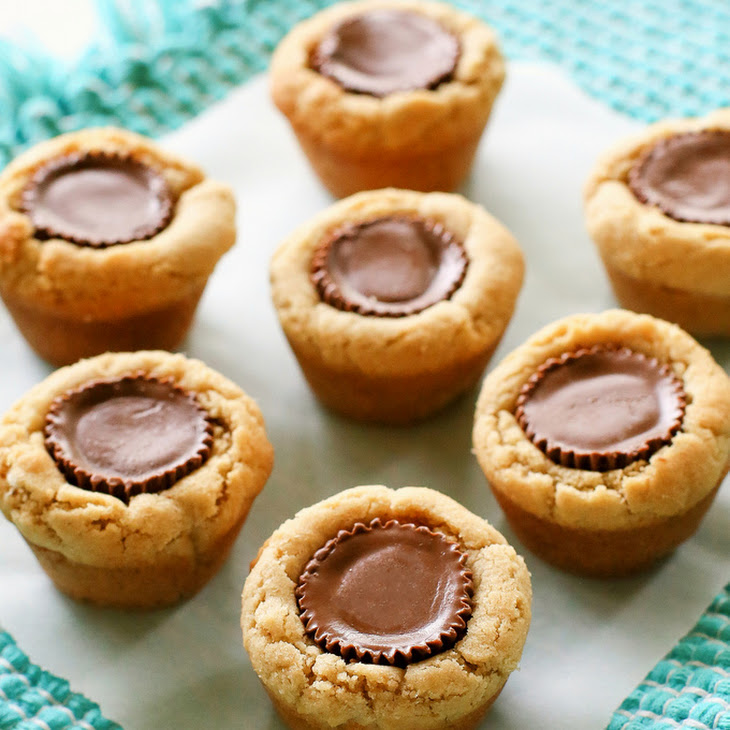 Peanut Butter Cup Cookies Recipe | Yummly