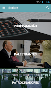 Congresso do IDERS - screenshot