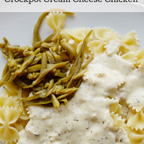 Crockpot Cream Cheese Chicken