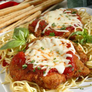 1 Step Chicken Parmesan