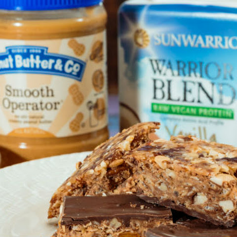 Tropical Chocolate Peanut Butter Bars