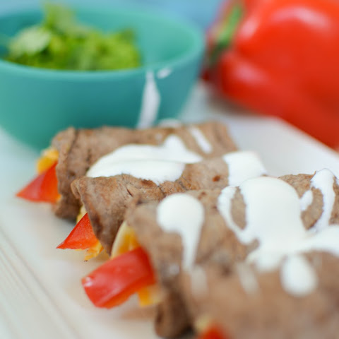Low Carb Fajita Roll Ups