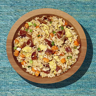 Spicy Sweet Bacon Fried Rice