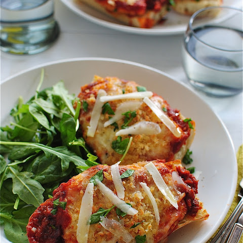 Chicken Parmesan French Breads