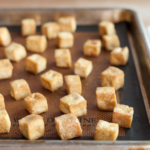How To Make Baked Tofu for Salads, Sandwiches & Snacks