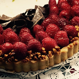 Raspberry Dessert by Lope Piamonte Jr - Food & Drink Candy & Dessert