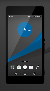 Dark - Blue Theme - screenshot