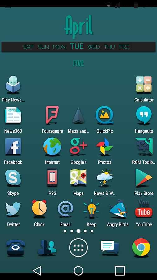 Proton - Icon Pack Screenshot 6