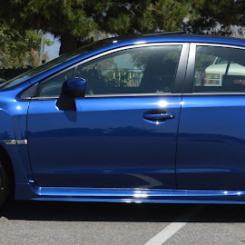SOLD! 2015 Subaru WRX by Nancy Lowrie - Transportation Automobiles ( all wheel drive, 4 cylinder, 2015, wrx, subaru, turbo, galaxy blue )