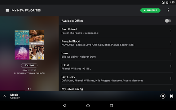 Spotify Music APK screenshot thumbnail 10