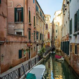 Venice || Italy by Stan Petru - City,  Street & Park  Street Scenes ( venezia, italia, venetia, venice, italy )