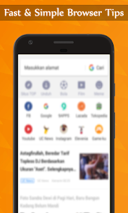 App New UC Browser 2017 Fast Browser Tips APK for Windows Phone