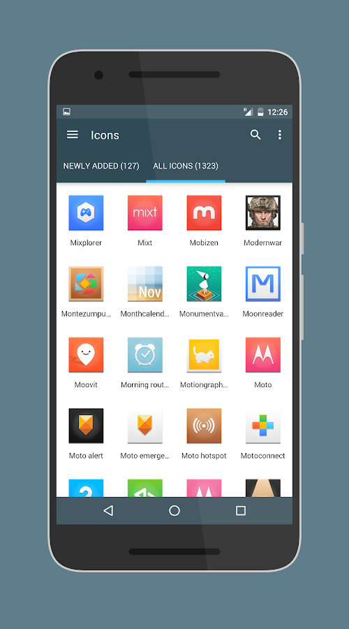 Canvas Icon Pack Screenshot 2