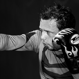 Concentration by Trevor Bond - Sports & Fitness Boxing ( sport, boxing )