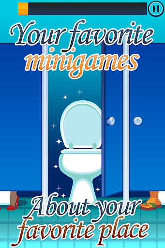 Toilet Time - Minigames to Kill Bathroom Boredom screenshot 1