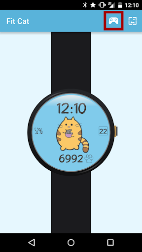 Fit Cat - Watch Face - screenshot