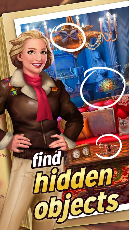 Pearl's Peril: Hidden Object Screenshot 0