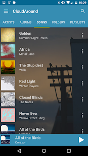 CloudAround Music Player- screenshot thumbnail