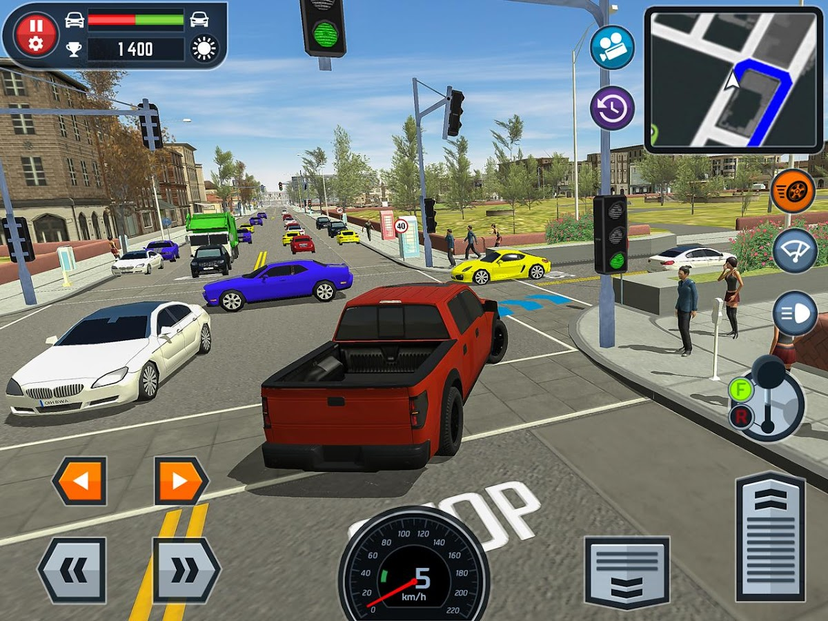 Car Driving School Simulator Screenshot 12