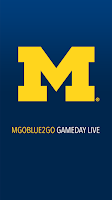 Screenshot of MGoBlue2Go Gameday LIVE
