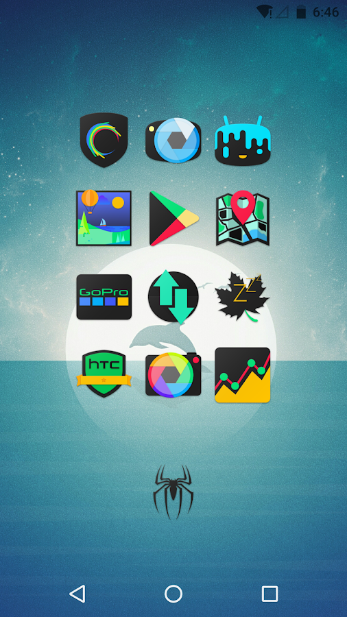 DarkFlow - Icon Pack Screenshot 5