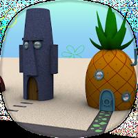 3D BikiniBottom sponge yellow pour PC (Windows / Mac)