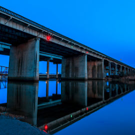 by Bryan Barnett - Buildings & Architecture Bridges & Suspended Structures ( i-5 snohomish river )