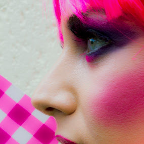 Pink by Jean Plessis - People Fashion ( fashion, girl, funky, makeup, pink )