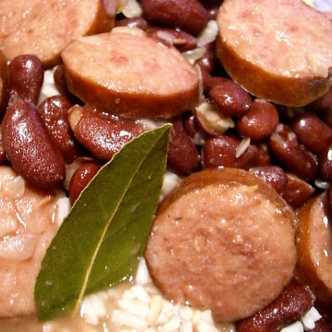 New Orleans Red Beans and Rice with Andouille Sausage