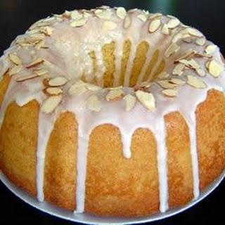 Almond Bundt Cake With Almond Glaze Recipes
