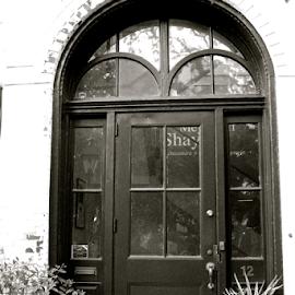 by Barbara Suggs - Black & White Buildings & Architecture