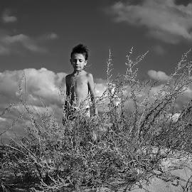 by Estislav Ploshtakov - Black & White Portraits & People