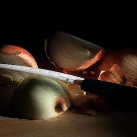 Onion by Dirk Rosin - Artistic Objects Still Life