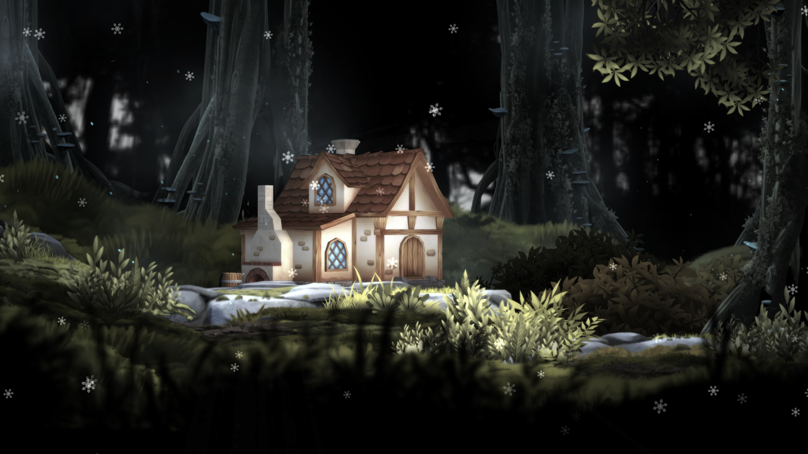 3D Forest House Full LWP Screenshot 15