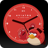 Angry Birds Aviator Watch Face APK for Nokia