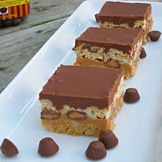 Peanut Butter Lover's Rice Krispie Treats