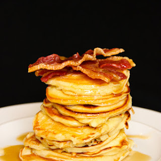 Flippin' Good Greek Yogurt Pancakes
