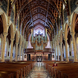Chicago Church by Jan Kiese - Buildings & Architecture Places of Worship