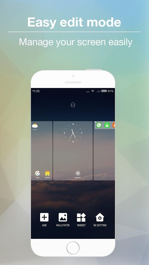 KK Launcher -Cool,Top launcher Screenshot 3