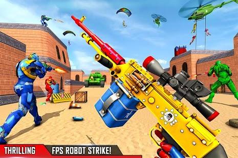 Fps Robot Shooting Strike: Counter Terrorist Games for pc