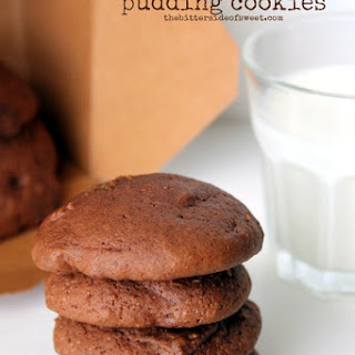Chocolate Chocolate Pudding Cookies