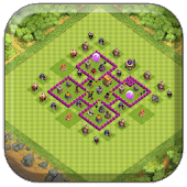 Town Hall 6 Farming Base COC