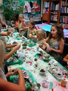 'Fairy' Party Craft - Fairy Houses!