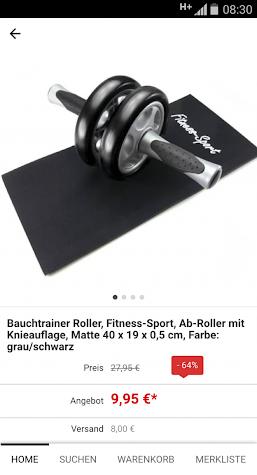 Lagerhaus4630 Katalog Screenshot
