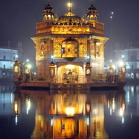 Golden Temple by Gaurav Dhup - Buildings & Architecture Places of Worship ( temple, reflection, god, worship, amritsar, golden,  )