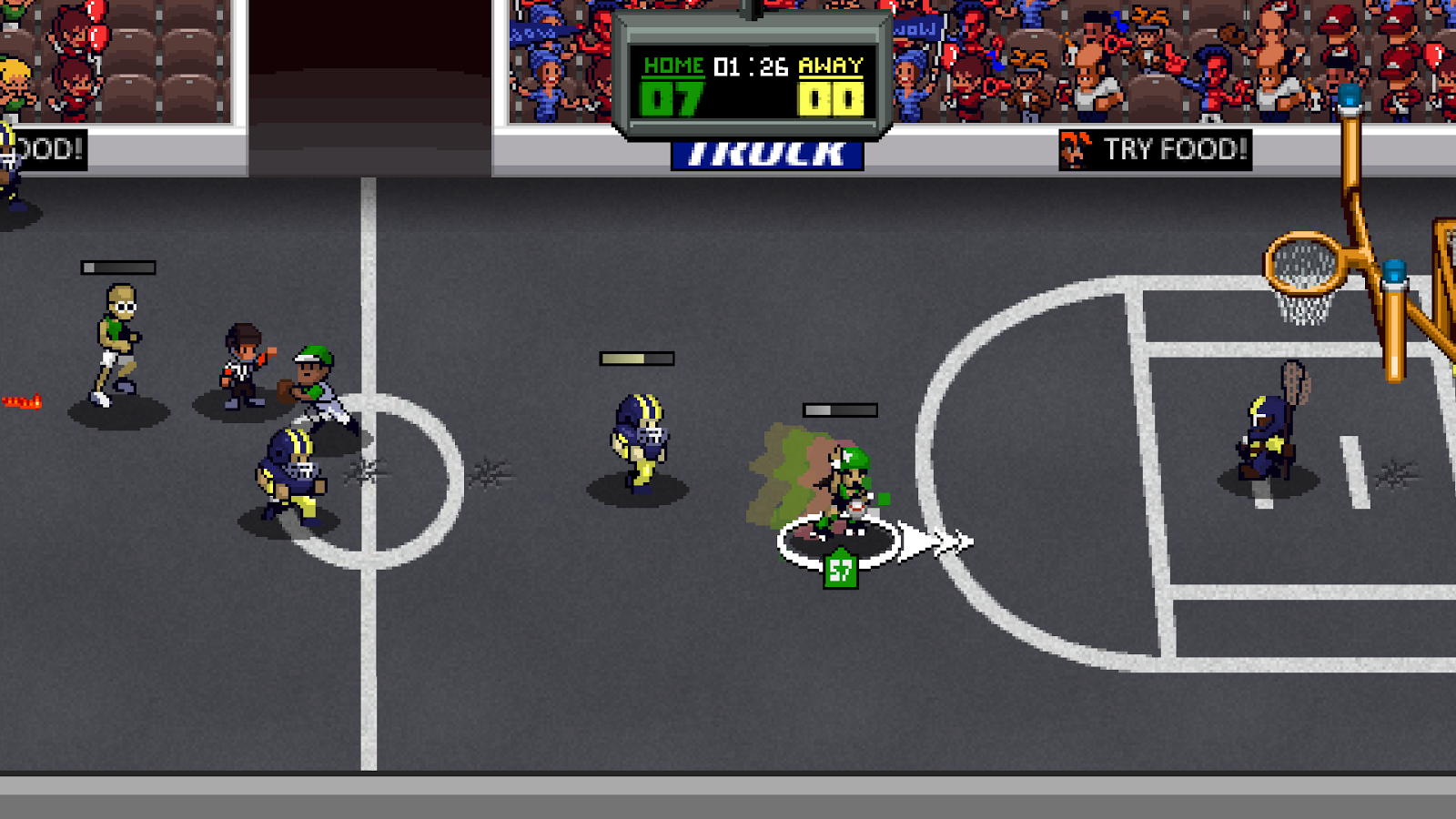 Super Slam Dunk Touchdown Screenshot 3