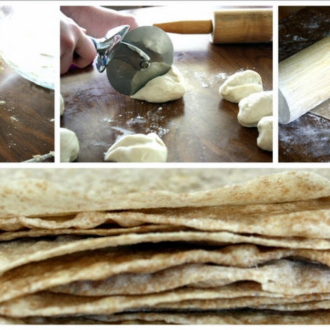 Butter Flour Tortillas