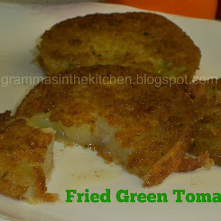 Not Your Typical Fried Green Tomatoes