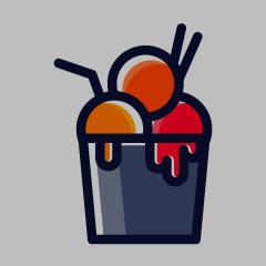 Dessertino, Kandivali West, Kandivali West logo
