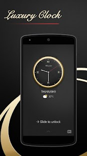 App Luxury Clock CM Locker Theme APK for Windows Phone